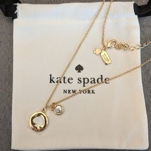 ♠️ Kate Spade logo necklace *NEW